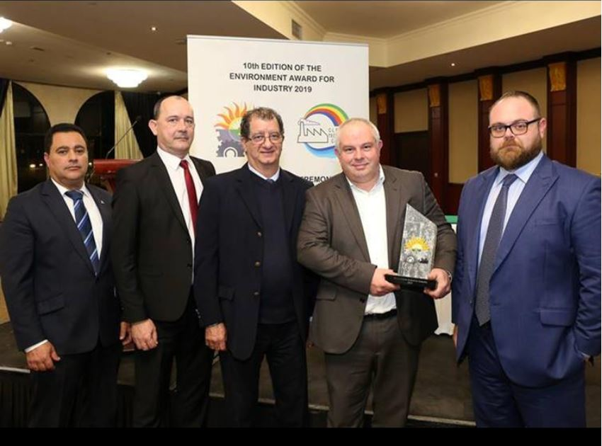 Environment Award for Industry 2019 for Sustainable Development