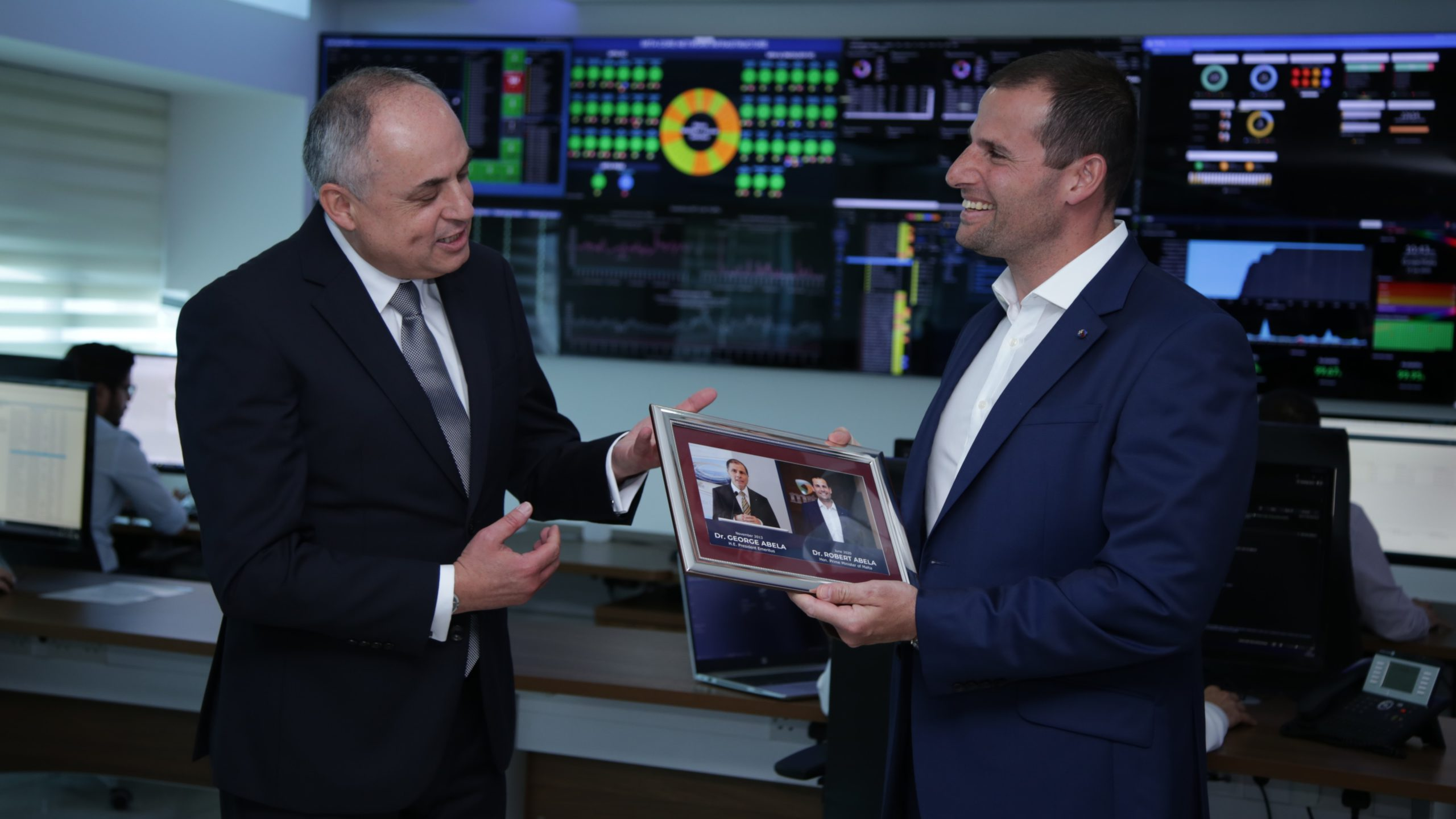 Prime Minister visit at MITA Data Centre