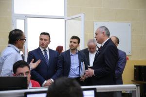Minister visit at MITA Gozo Office